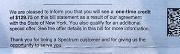 Check Your Bill For A Refund From Spectrum