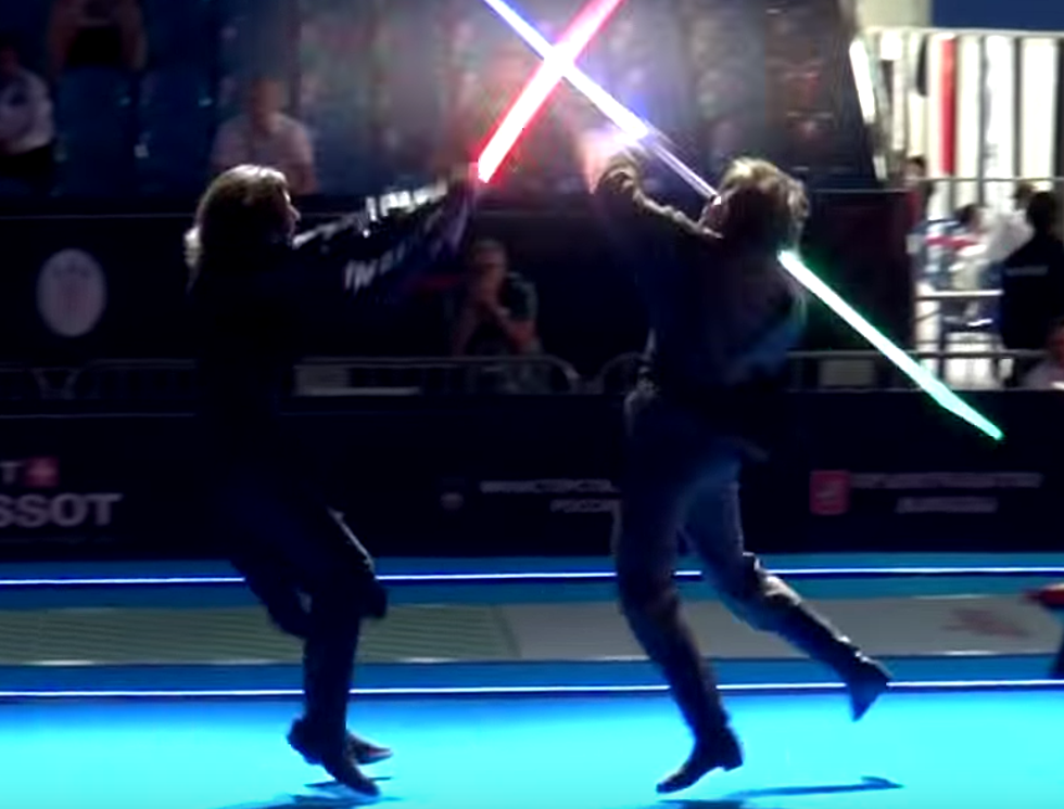 Light-saber Fighting Is Now Officially A Sport