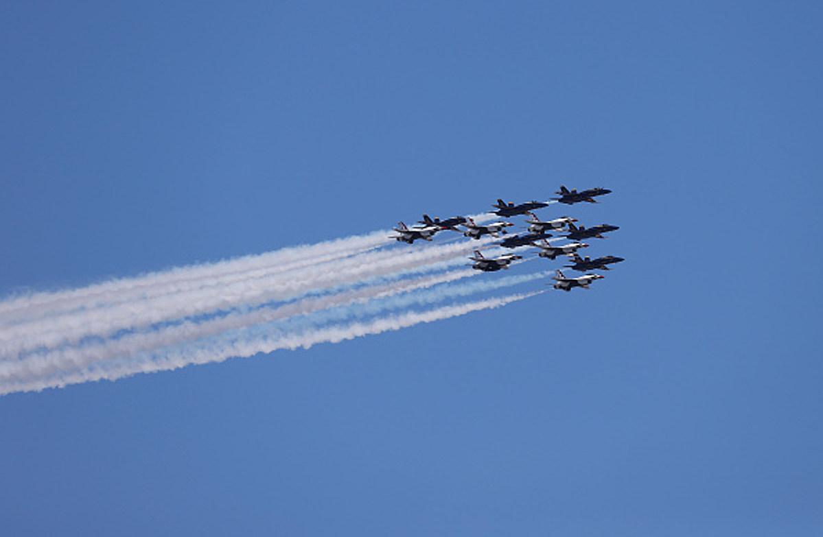 VIDEO: Sean McDermott Seemed A Bit Scared in Blue Angels Plane