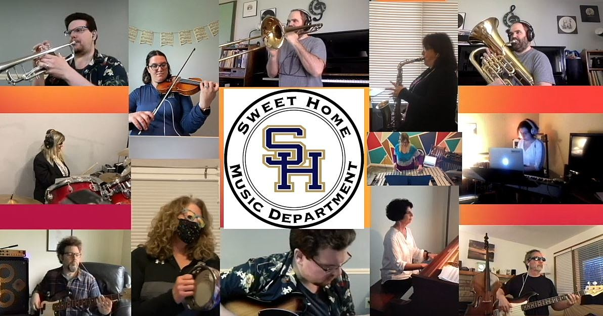 Sweet Home Music Department Gives Virtual Performance