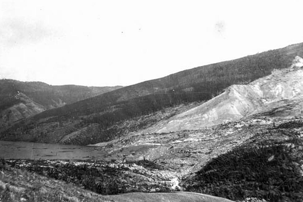New Wyoming Lake Isn't the First To Be Created By a Landslide