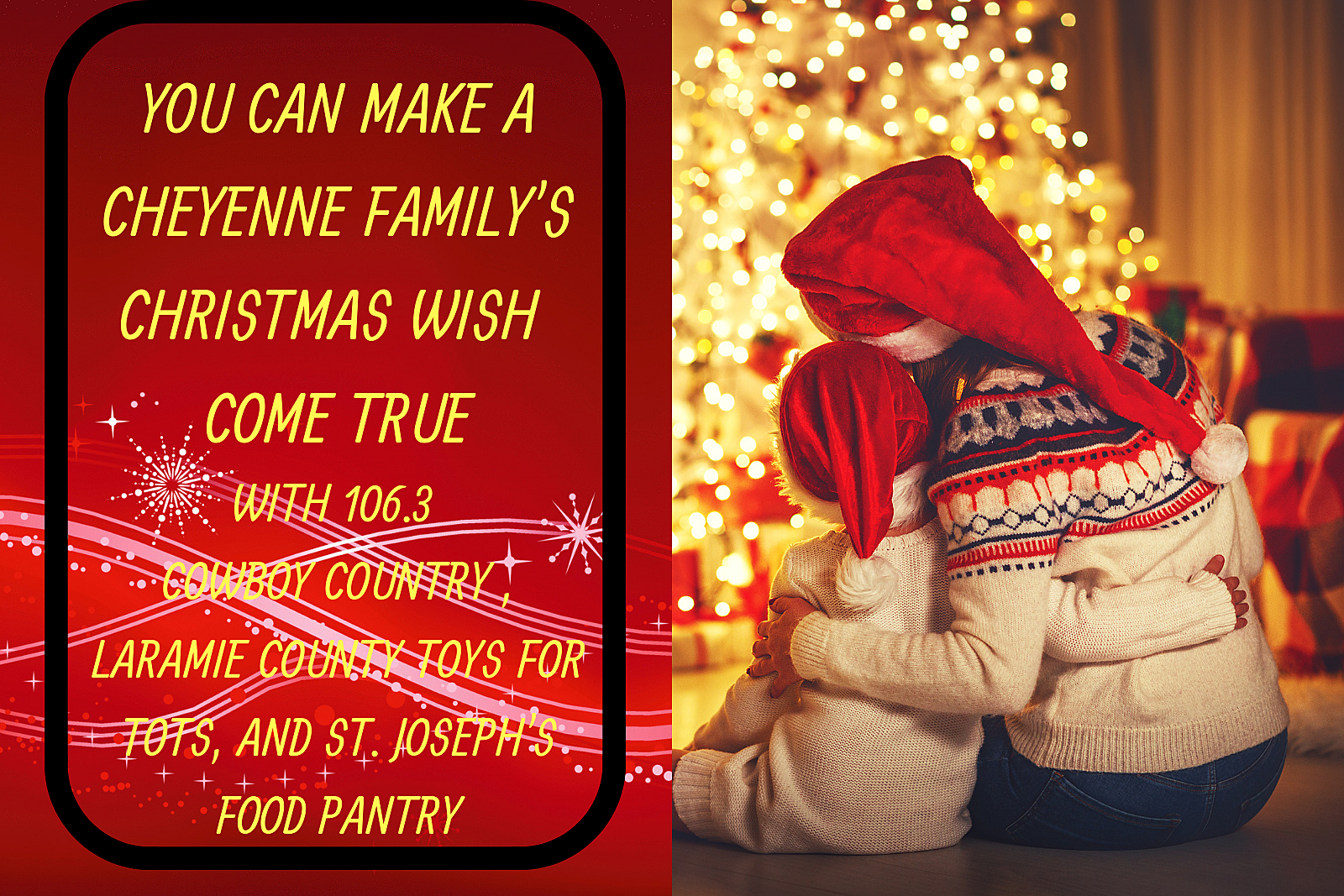 You Can Make a Cheyenne Family\'s Christmas Wish Come True