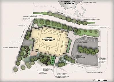 Casper College Music Building Plans Approved on