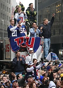 Hot Ticker Tape Parade For New York Giants On Broadway  for sale