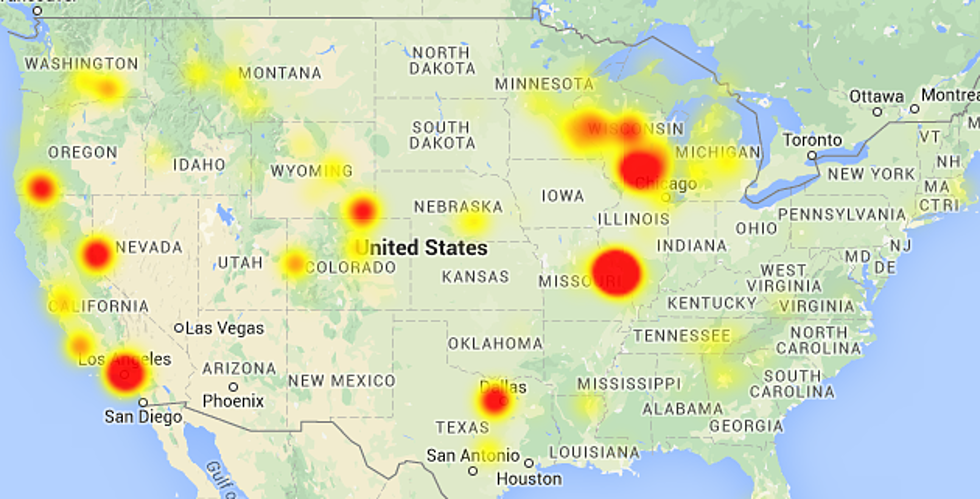 Charter Communications Down Throughout Casper on charter network map, charter cable service map, charter communications map, charter internet service, charter service area, charter cable availability map, frontier communications wisconsin map, charter coverage map,