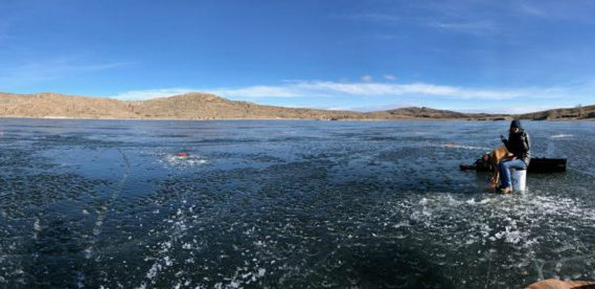 Bartlett man dies after falling through ice on lake in