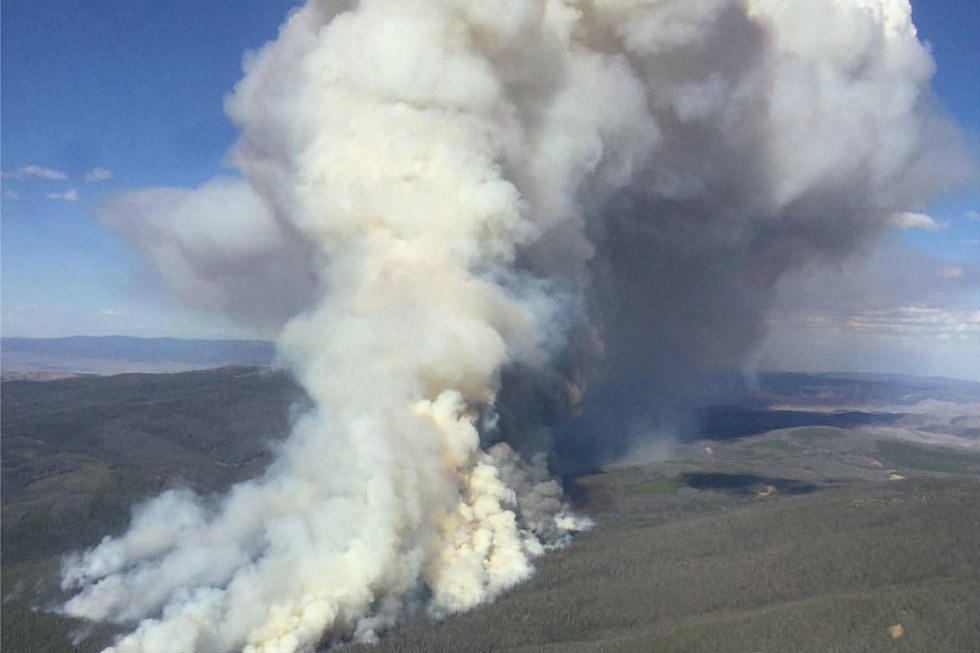 Southern Wyoming, Northern Colorado Fire Now 2,470 Acres in Size