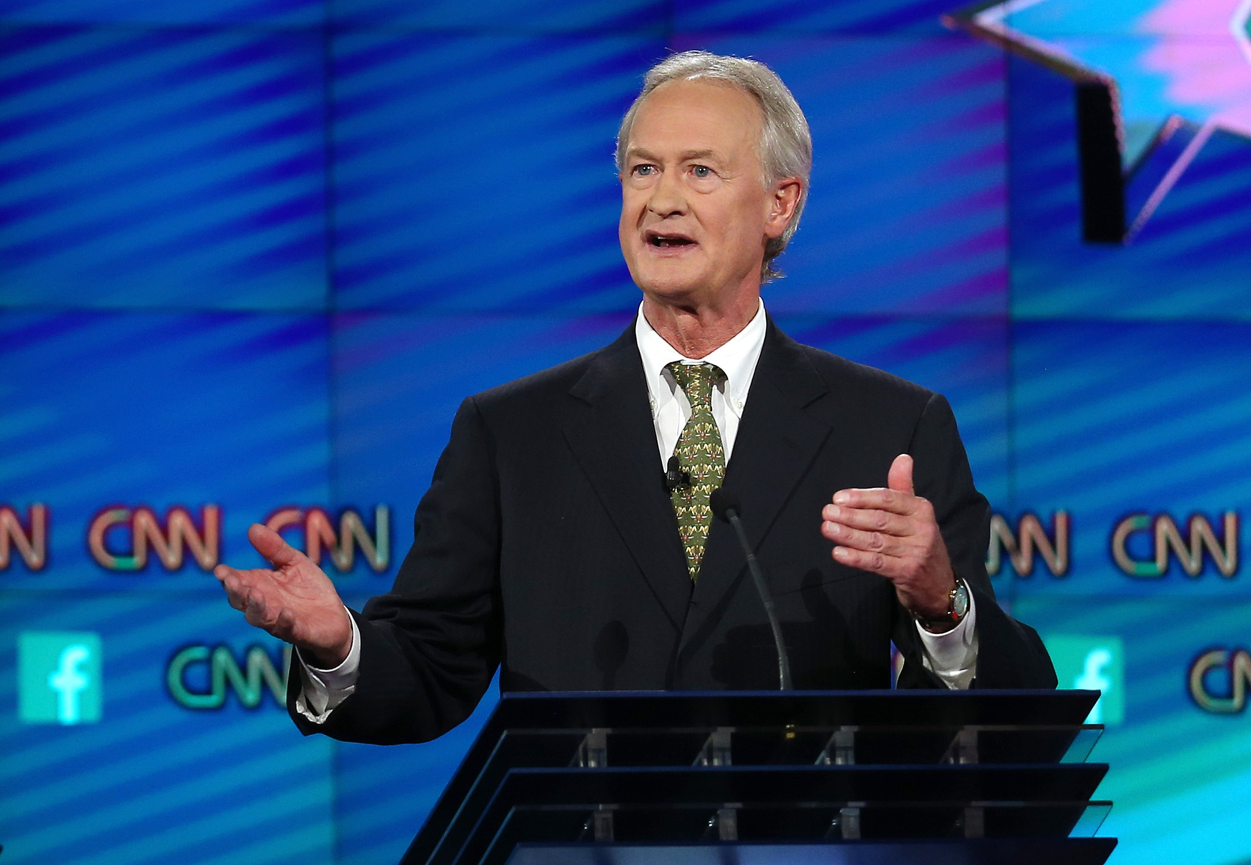 Lincoln Chafee Says He's Thinking About Moving to Wyoming