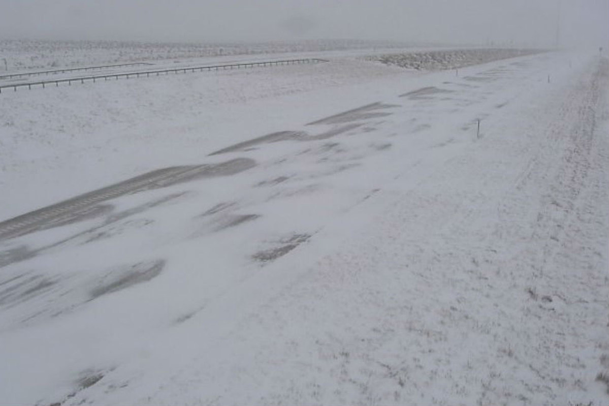 All of I-25 Closed in Wyoming Due to Winter Storm