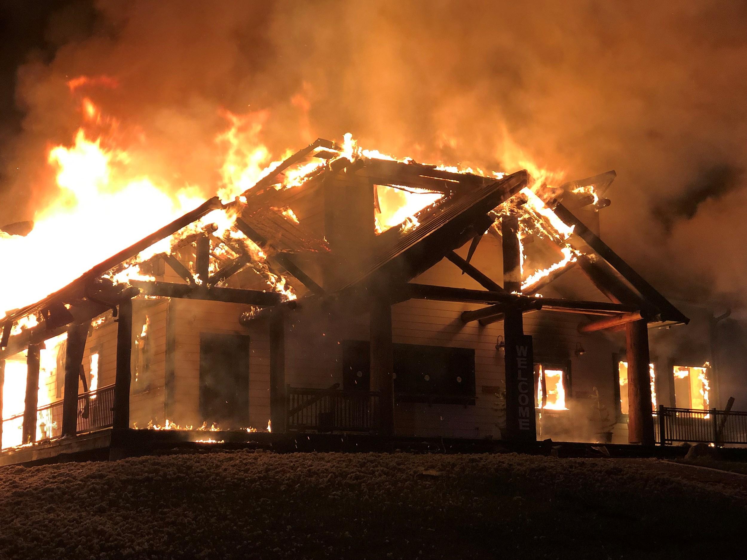 Fire - Laramie Live