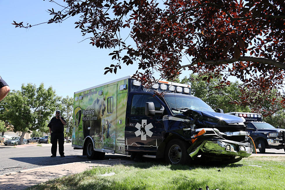 Casper Police: Driver Cited After Causing Crash With Ambulance