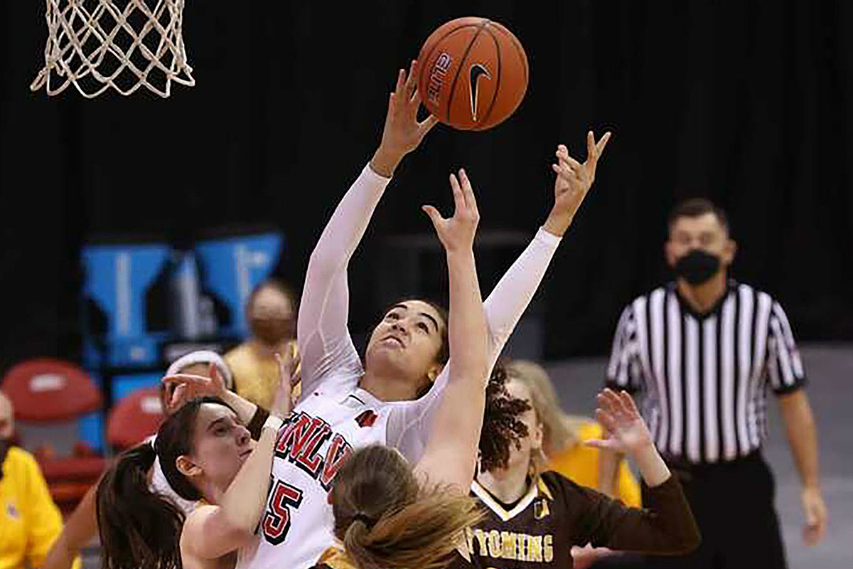 Wyoming Cowgirls defeat UNLV, notch second consecutive