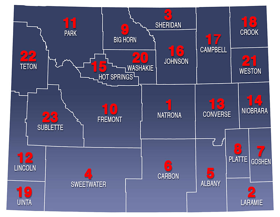 Wyoming County License Plate Codes