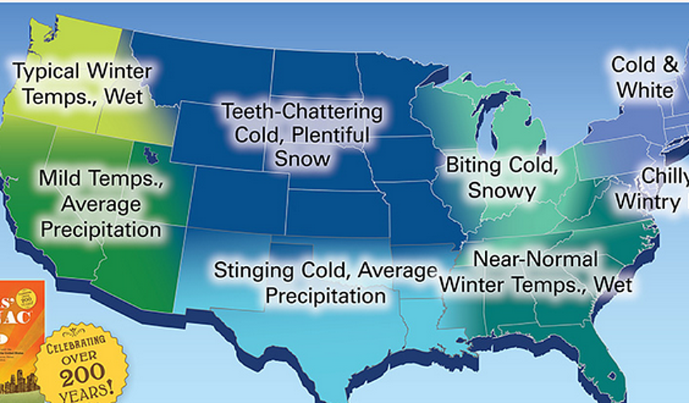 Farmers' Almanac Is Predicting a Harsh Winter for Wyoming in
