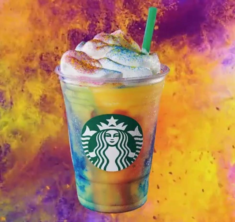 Starbucks' Tie-Dye Frappuccino Has Arrived In Casper