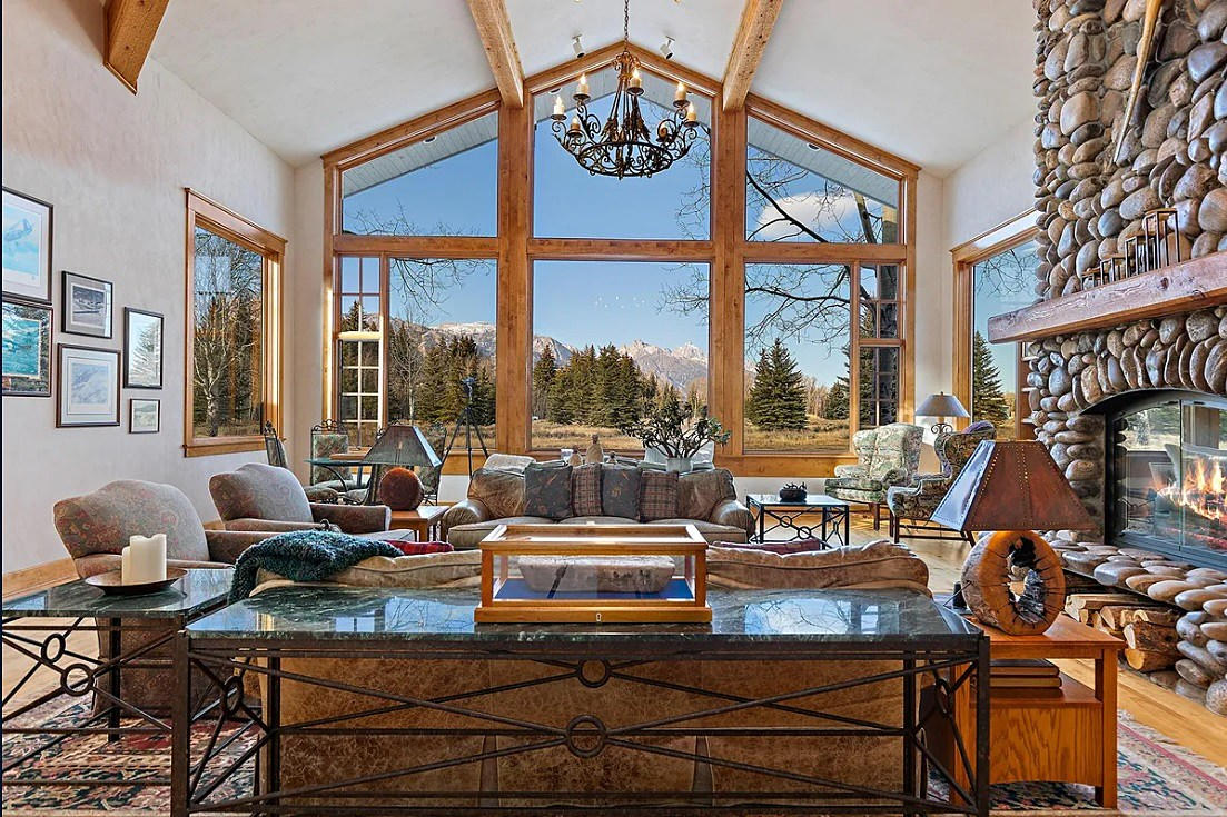 Check Out 13 Pics of a 13 Million Dollar Wyoming Mountain Retreat