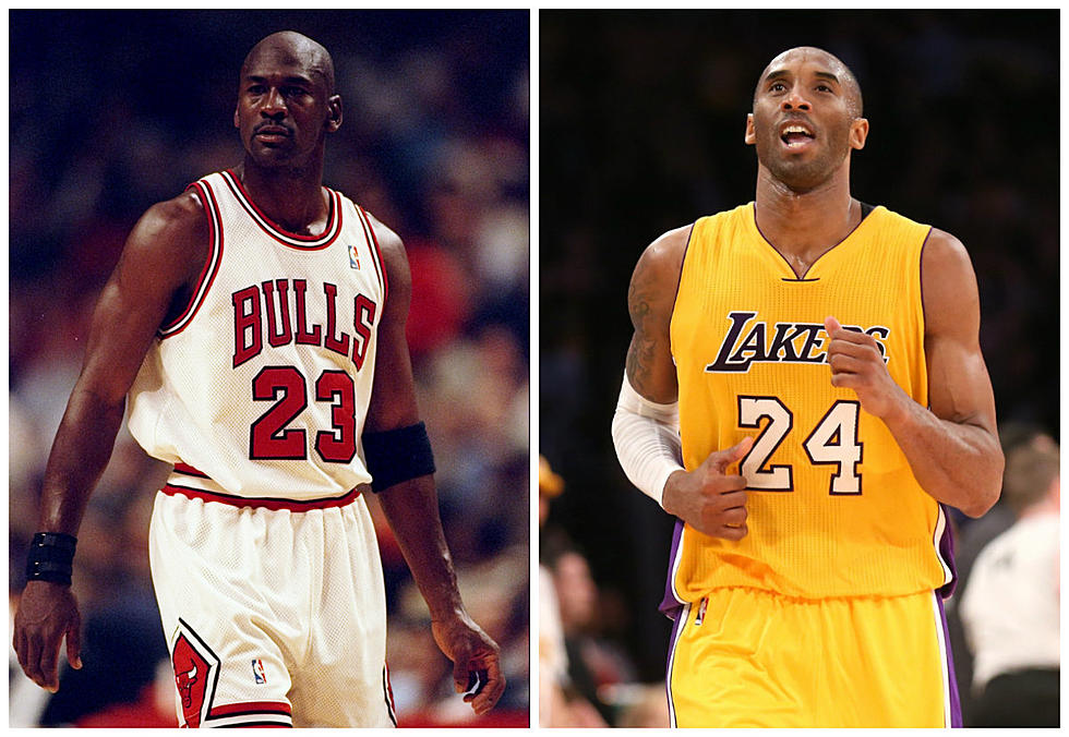 63d7af55a2e2 Michael Jordan vs Kobe Bryant  VIDEO