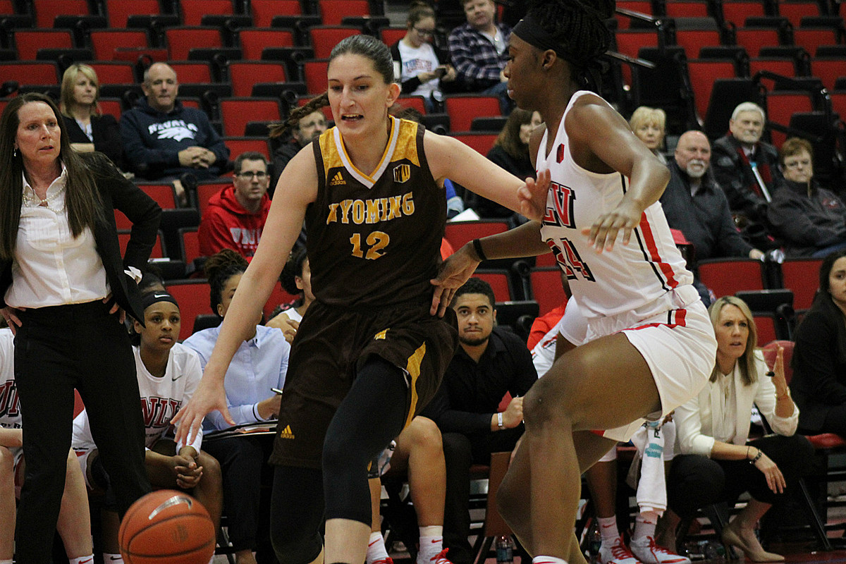 Wyoming Cowgirls Rout UNLV, 82-56