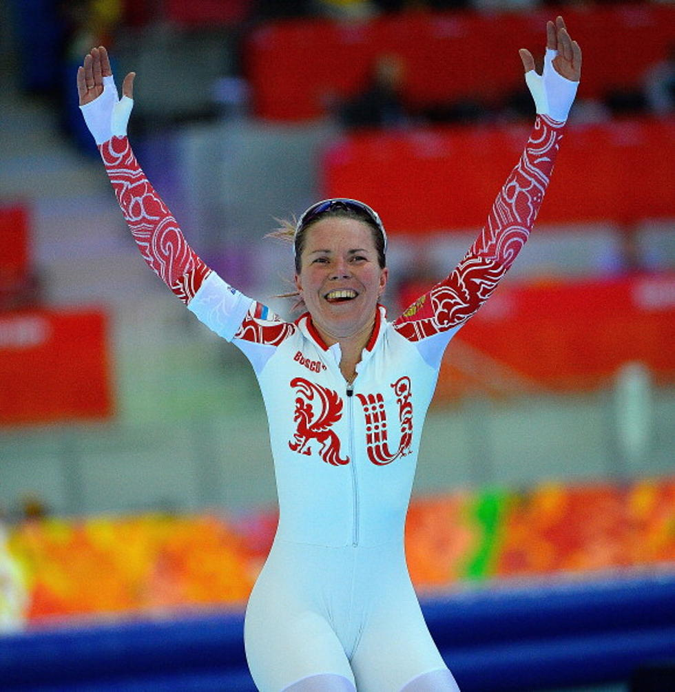 Olympic Speed Skater Has Wardrobe Malfunction