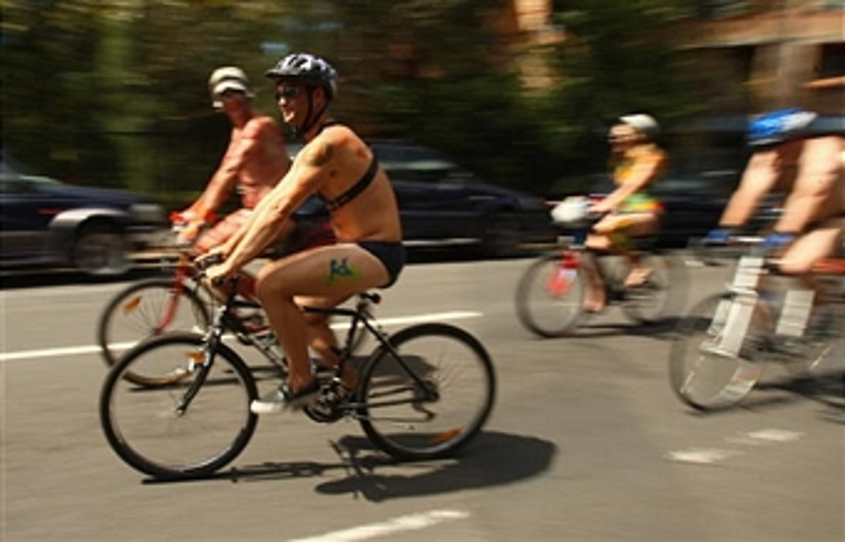 The World Naked Bike Ride Is Coming - Bring Your Bike (But