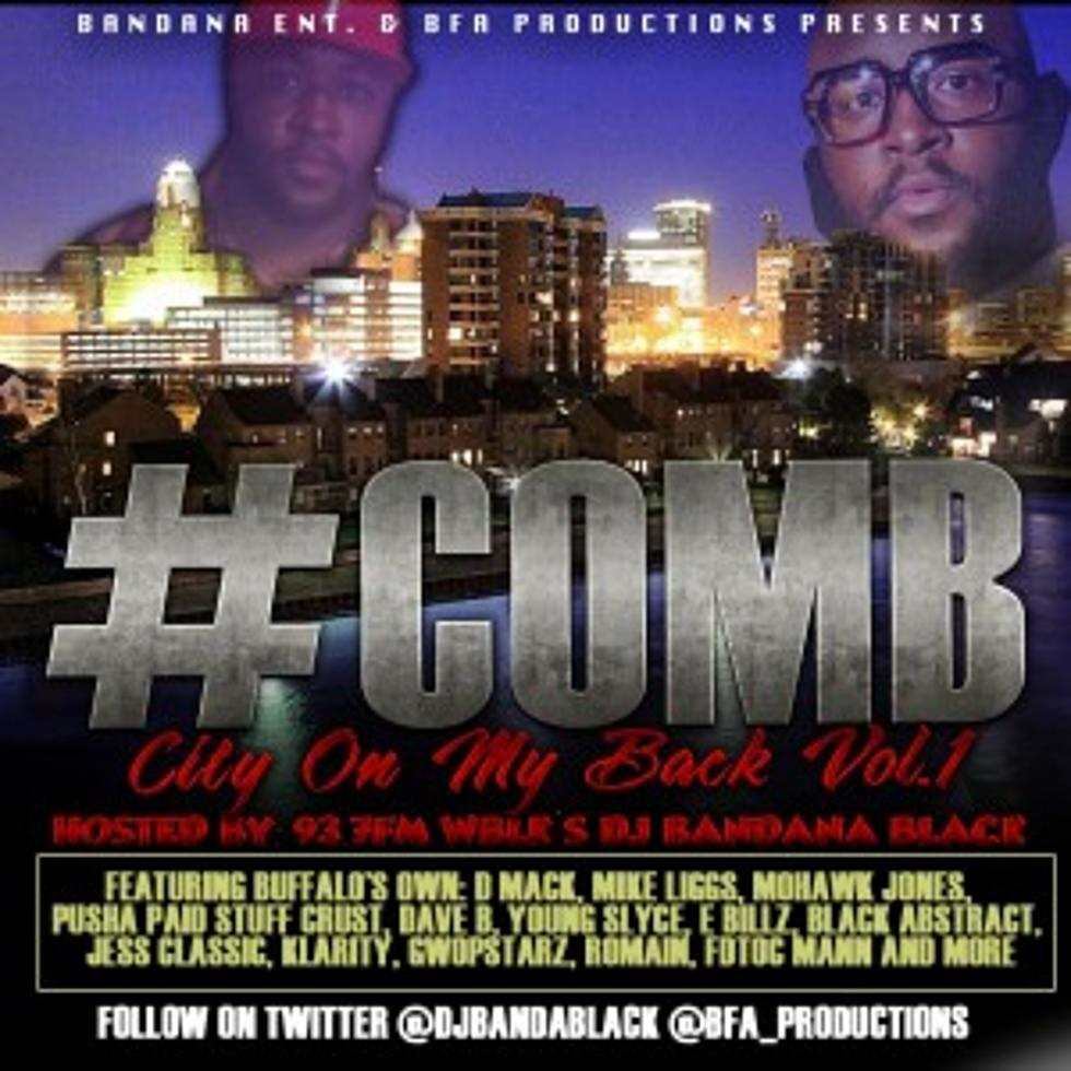 DJ Bandana Black — #COMB (City on My Back) [Free Download