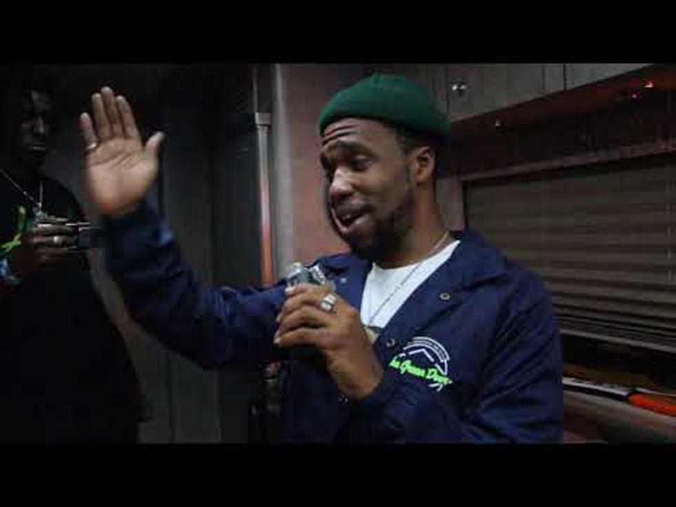 Curren$y Talks with WBLK's Michelle Visa on his Tour Bus