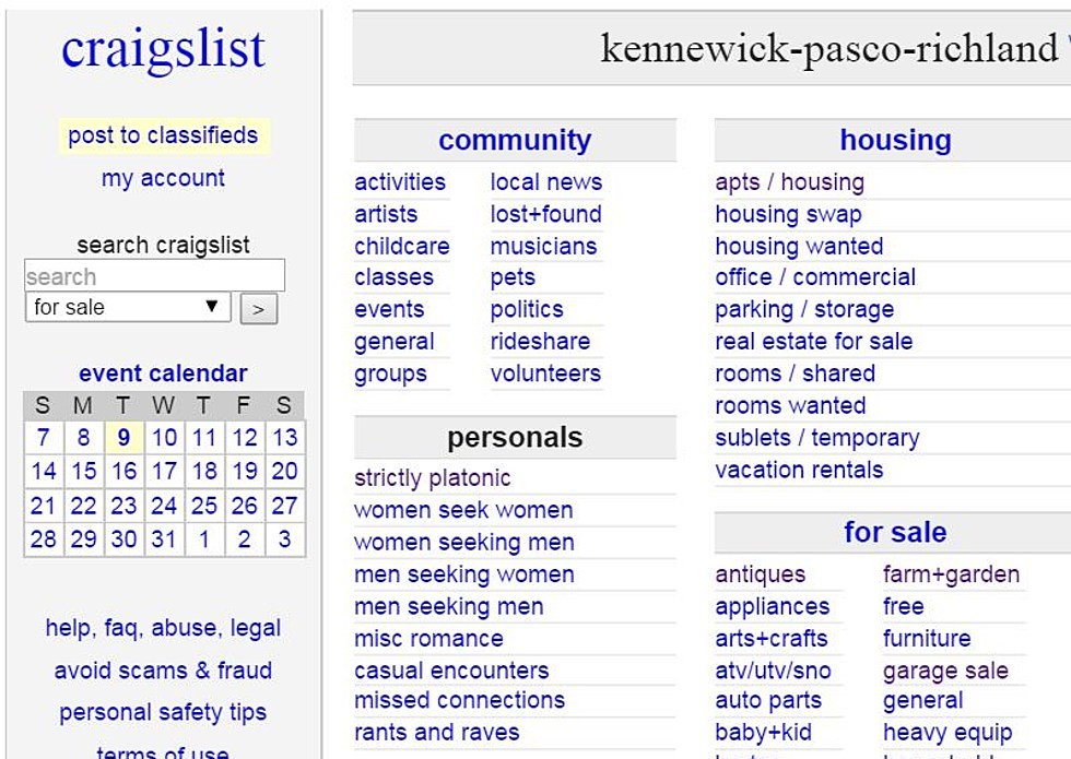 Craigslist Kennewick Pasco Richland Translator For Items