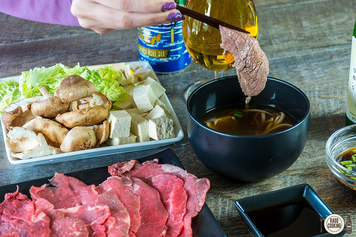 shabushabu with otter water broth recipe video