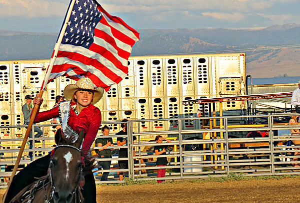 Nra Rodeo Tops Off The Ravalli County Fair Saturday Night