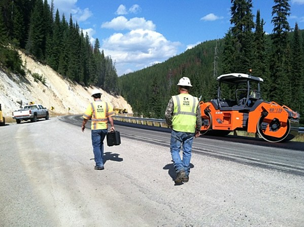 Highway Construction Projects Continue on Highway 93 South