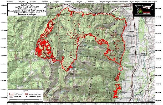 Lolo Peak Fire On Pace To Be Most Expensive In Montana State History