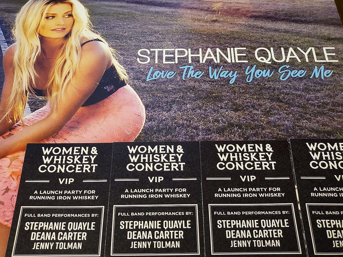 Be a VIP at the Women & Whiskey Concert with Stephanie Quayle