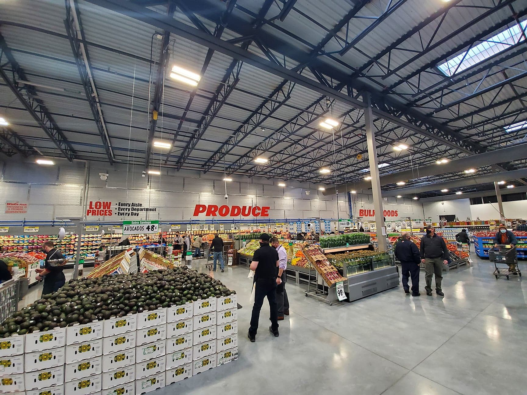 A Look Inside Bozeman S New Winco Foods Store