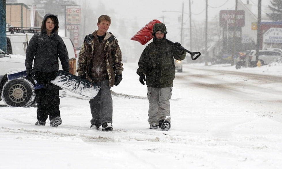 Lazy Billings Teenagers Refuse To Shovel Snow for $10