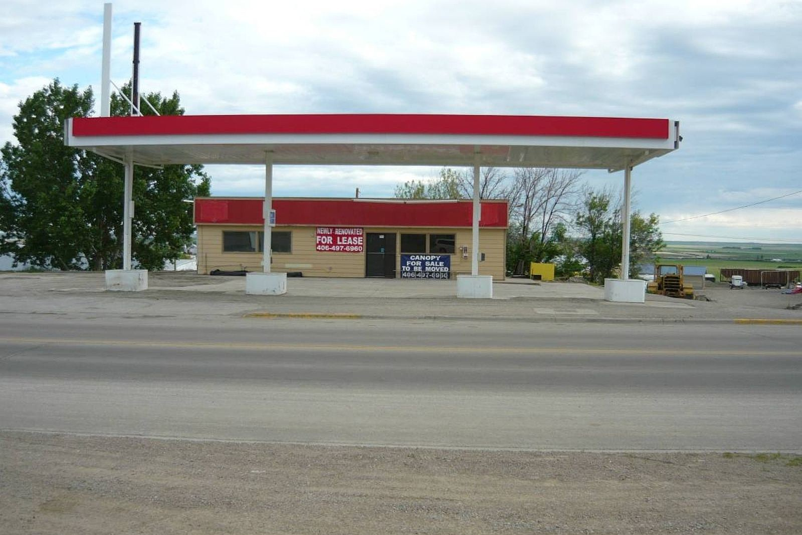 Craigslist Freebie An Entire Gas Station Canopy In Montana
