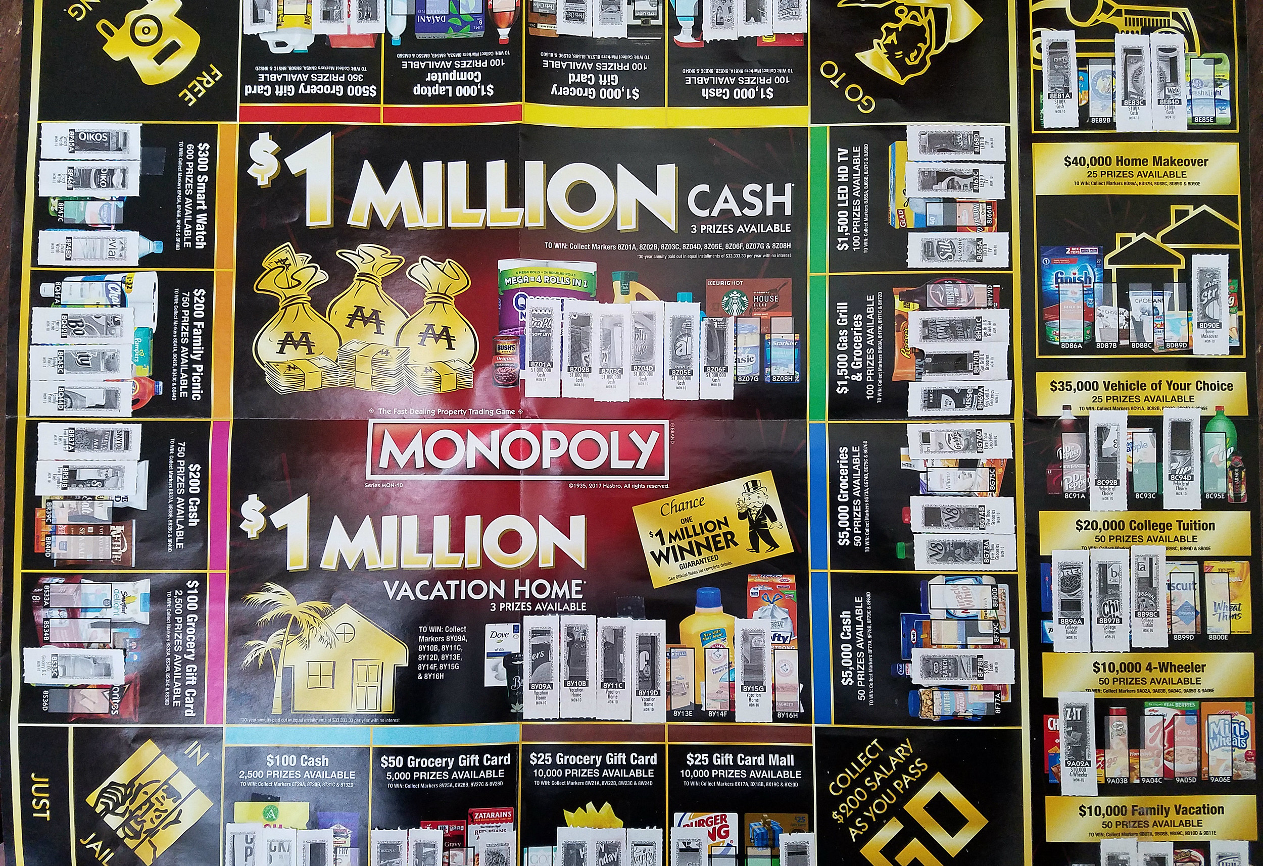 Safeway Monopoly 2017: Montana's Got Some Big Winners, Just Not Me