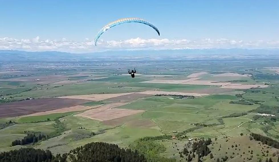 Awesome Video of Paragliding in Bozeman [WATCH]
