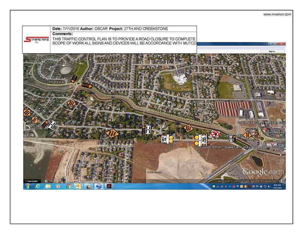 Traffic Alert I-84 Closed Between Pendleton & La Grande