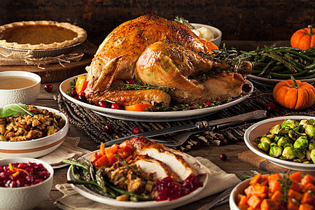Thanksgiving — Why Cook It Yourself When the Grocery Store