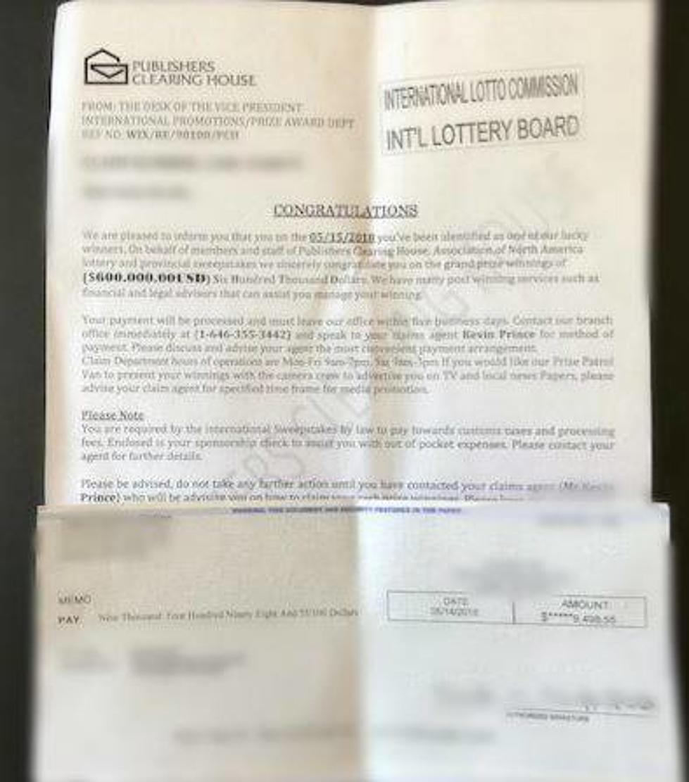 Publisher's Clearing House Scam Hits Tri-Cities
