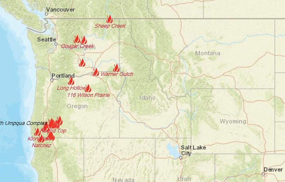 Here S An Interactive Map Of All Current Fires And Emergency Info