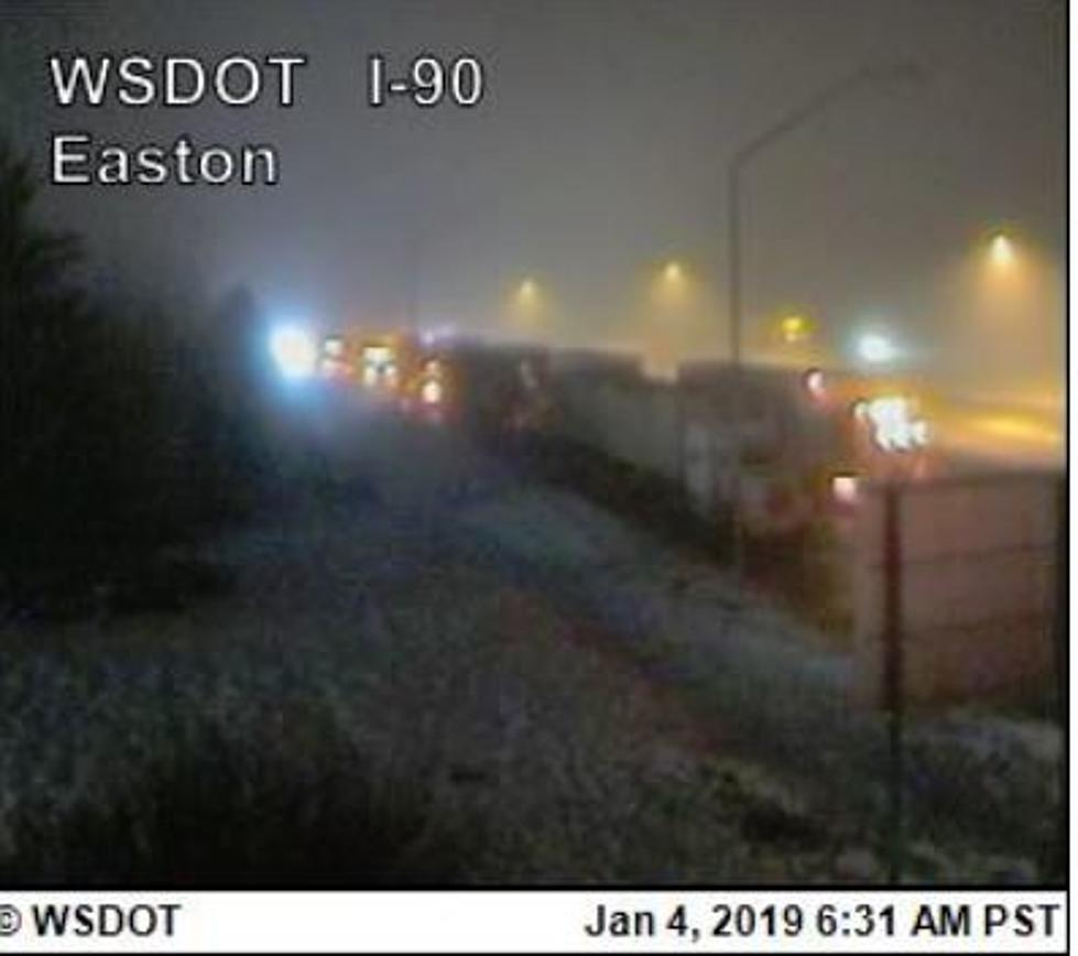 Traffic Alert I-90 Currently Closed in Both Directions ICE