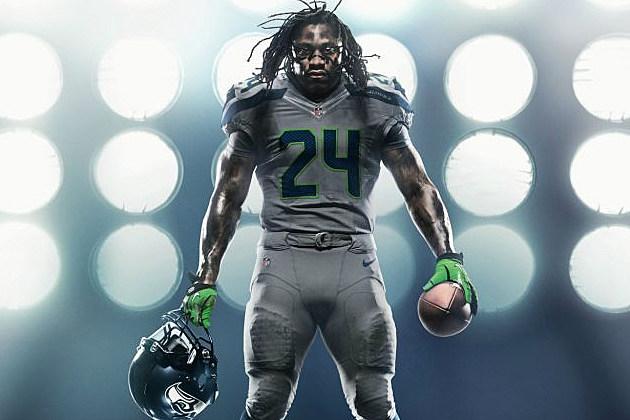 promo code 125c3 4c6c8 Nike Unveils New NFL Uniforms – Seattle Seahawks [PHOTOS]