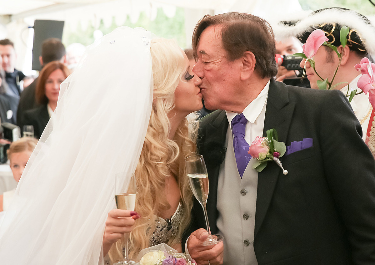 24-Year-Old Model Weds 81 Year Old Billionaire ( Photos