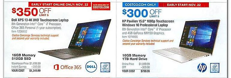 602ddcc2ced Costco's Black Friday Ad Has Been Leaked -- Doozy Deals