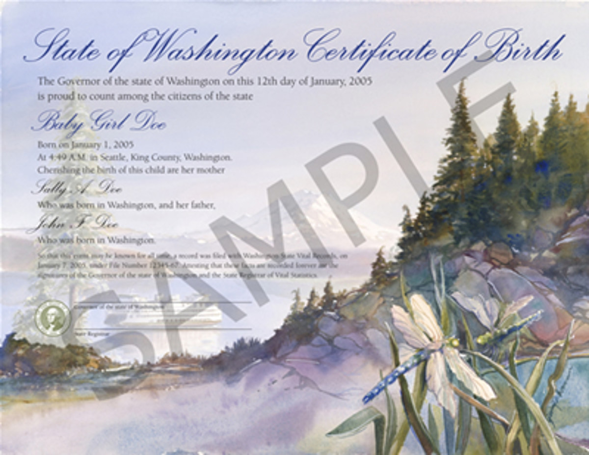 Coming Soon In Wa State Gender Neutral Birth Certificates