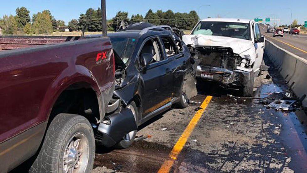 Massive Pileup Near Pasco Sends 1 To Hospital, Six Car Pileup