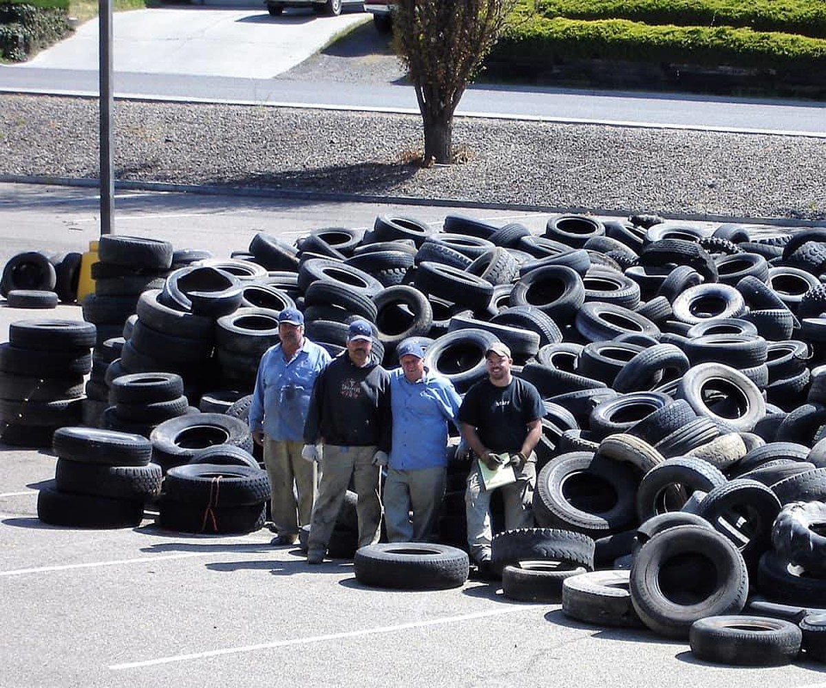Got old tires heres how you can legally toss them
