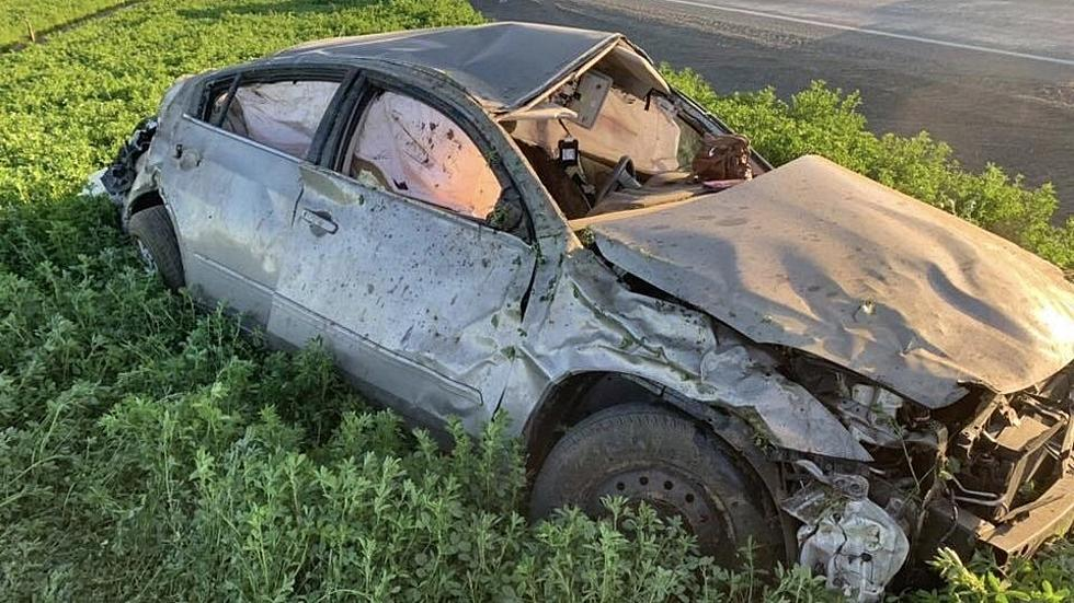 Driver Survives Being Ejected During Violent Rollover Crash