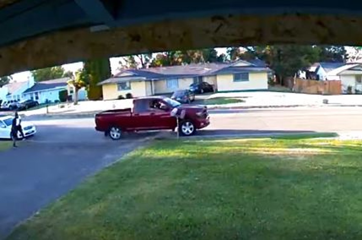 Video Captures Drunk Driver Hitting House VIDEO